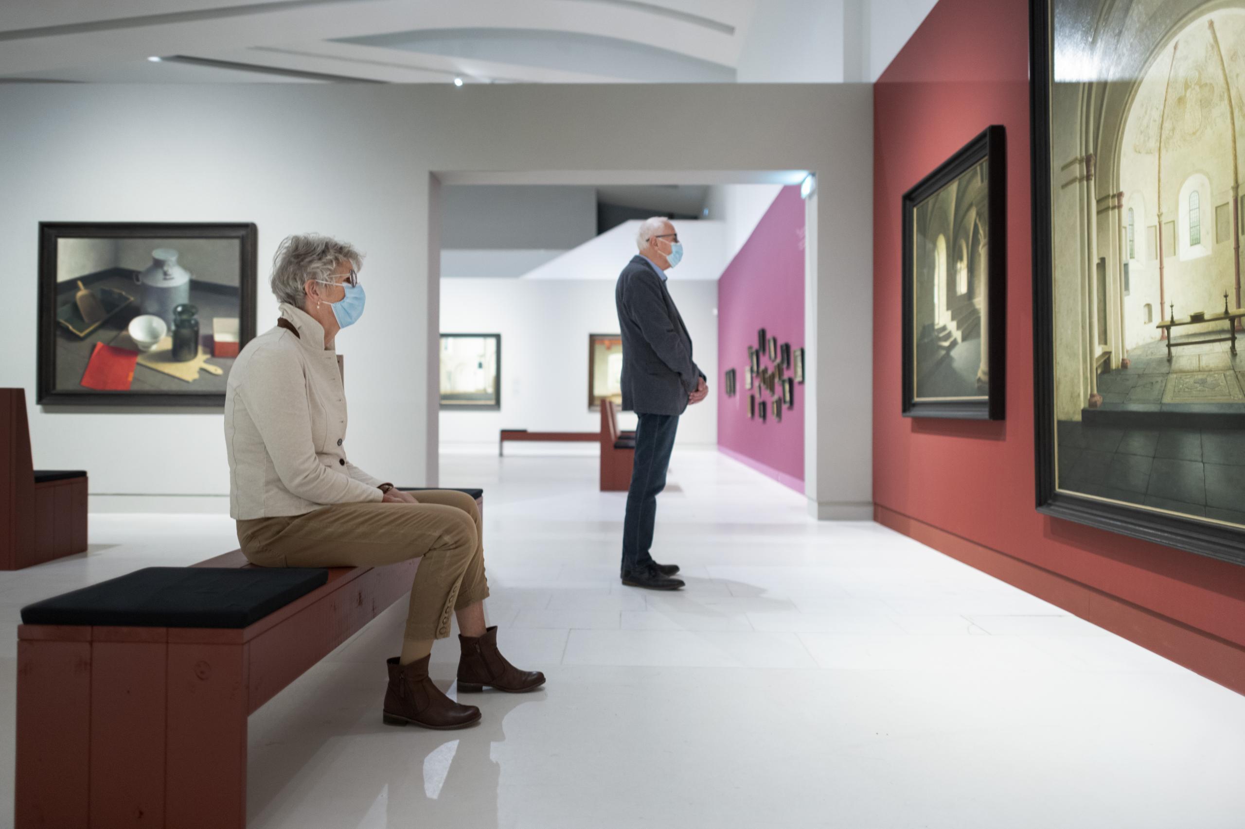 Pilot: museumbezoek met sneltesten