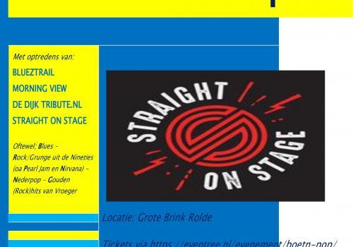 10 en 11 juli 2021: Boet'n Pop (classic pop- en rockfestival) en Country Music festival in Rolde!